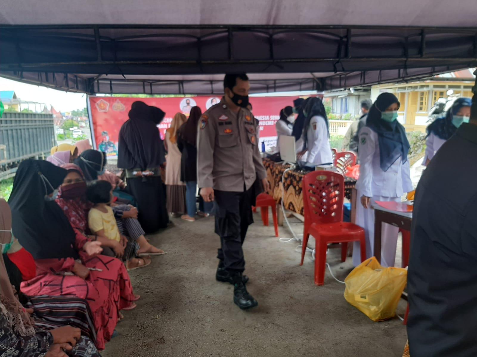 Gerai Vaksin Presisi Polres Bukittinggi Nyasar Ke Kantor-kantor Wali Nagari